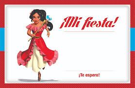 Invitacion Elena De Avalor Para Imprimir Descarga Gratis Fiesta De