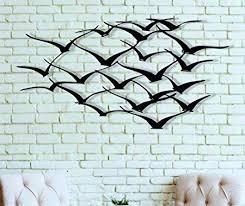 metal wall art cranes metal bird decor