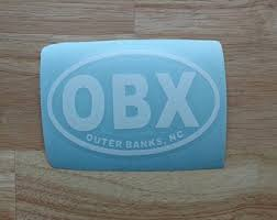 Obx Decal Etsy
