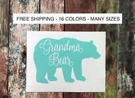Grandma Bear Vinyl Car Decal Sticker For Hydro Flask Yeti Tumbler Mug Tablet 2 75 Picclick