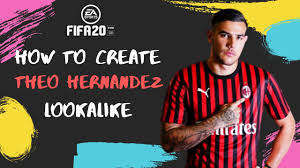 How to Create Theo Hernandez - FIFA 20 Lookalike - YouTube