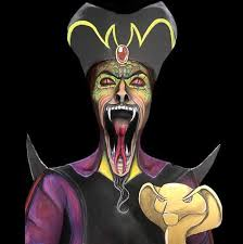 jafar turning into his snake form