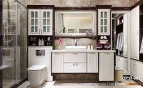 glossy lacquer tall bathroom cabinet
