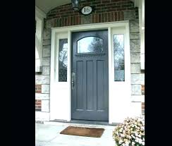 front doors with side panels