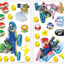 Ninetendo Mario Kart 8 Peel And Stick Wall Decals Peel And Stick Decals The Mural Store