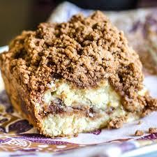 cinnamon coffee cake with streusel