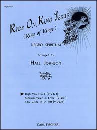 Ride On, King Jesus (High Solo key of F | J.W. Pepper Sheet Music