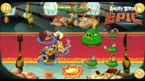 King Pig Returns And Monday Dungeon At End. (Angry Birds Epic ...
