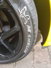 Order Replacement Letters Tire Stickers