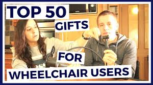 items and gifts for wheelchair users