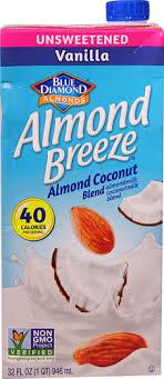 blue diamond almond breeze almond