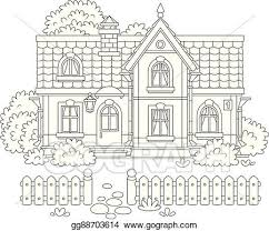 Eps Illustration Toy Village House Vector Clipart Gg88703614 Gograph