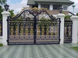 Beautiful Ornamented Gates Of High Quality In Awka Connin Design