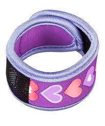 Z Fence Purple Hearts Mosquito Repellent Wristband Refills Zulily