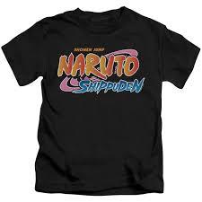 Naruto Shippuden Kids T-Shirt - Logo - NerdKungFu