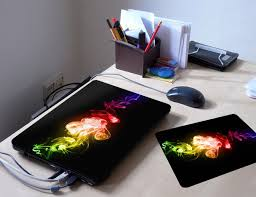 Modern Abstract 10113 Skin Sticker Decal Protective Cover Vinyl With Leather Effect Laminate And Colorful Design