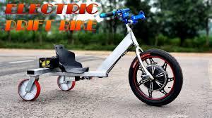 build a 500w electric drift bike v2