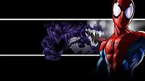 spider man and venom 3d poster hd
