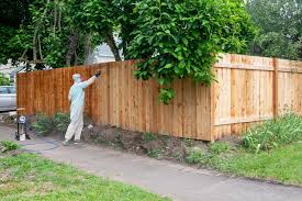 Diy Sealing Our Fence How To Protect Wood With A Clear Stain Create Enjoy