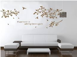 Black Brown White Birds On Branches Creative Wall Decal Zooyoo8118 Decorative Adesivo De Parede Removable Vinyl Wall Sticker Wall Stickers Aliexpress