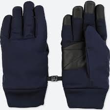 men heattech lining function gloves