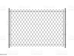 Chain Link Fence Realistic Metal Mesh Fences Wire Construction Steel Security Wall Industrial Border Metallic Texture Vector Pattern Stock Illustration Download Image Now Istock