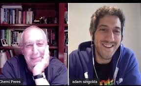 """adam singolda on Twitter: """"Nearly 100,000 listeners, thank you @chemiperes  and @israeliamerican for having me. Talking about """"tomorrow"""" ...… """""""