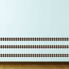 Train Track Wall Decals Wayfair