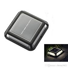 2020 5x5 Solar Fence Post Cap Lights Square Solar Road Marker Stair Step Lights 12led Solar Road Studs Outdoor Waterproof From Chrissy9421 16 38 Dhgate Com
