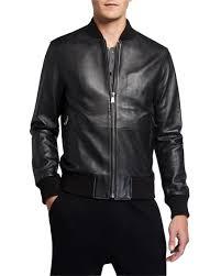 leather er jacket neiman marcus
