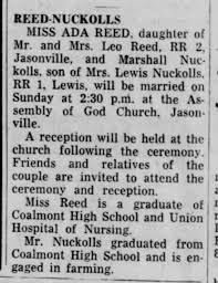 Reed Wedding - Newspapers.com