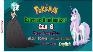 New Pokemon Ruby Extreme Randomizer GBA ROM 2020, Gen 8, Mega Evolution,  Alola Forms, Galar Forms!