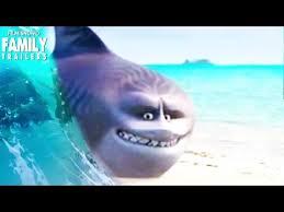 moana maui as a funny shark head and