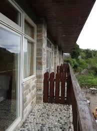 Balcony Of My Rooms Are Just Separated By A Wooden Fence Picture Of Misty Villa Ren Ai Township Tripadvisor