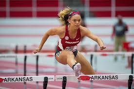 Moore Takes Heptathlon By Storm | Arkansas Razorbacks