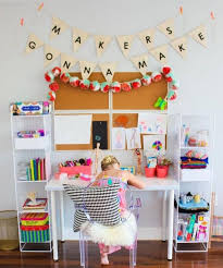 Maker S Gonna Make How Adorable Is That Tag Us In Your Kid S Craft Areas Ninasyhabitacionesespeciales Kids Craft Room Craft Area Craft Storage