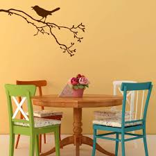 Singing Bird On A Branch Wall Decal Sticker Decal The Walls