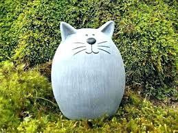 garden cats statues cat statue