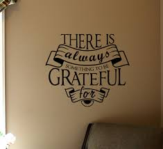 Something To Be Grateful For Wall Decal Trading Phrases