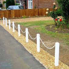 Post Chain Fencing Plastic Fencing Tekplas Made In The Uk