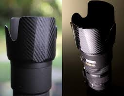 Protect And Dress Up Your Camera Gear With Carbon Fiber Vinyl Decals