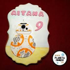 Cumpleanos Galletas Star Wars Bb8 Planeta Cookie