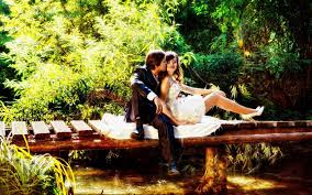 and boy beautiful couple nature