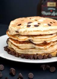 banana chocolate chip pancakes my