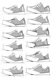 Footwear Sketches by Duane Marshall, via Behance | Shoe design sketches,  Shoe sketches, Sketches