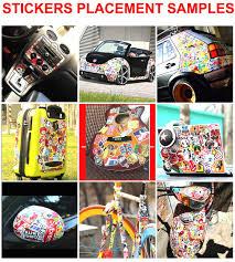 Amazon Com 5000pcs Stickers Bomb Graffiti Vinyl Skate Sticker Bomb Car Stickerbomb