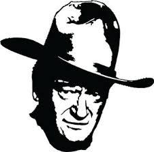 John Wayne Vinyl Decal Bumper Sticker Duke Westerns Western Dvd Country Ebay