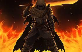 sword warrior cloak dark souls 3