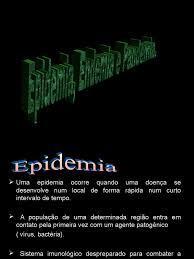 Endemia Pandemia e Epidemia