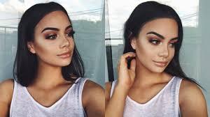 bronze makeup look tutorial saubhaya